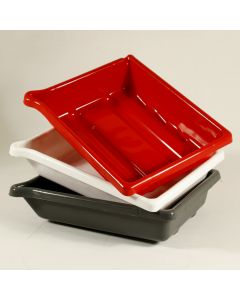 Dev Tray 8x10in Red