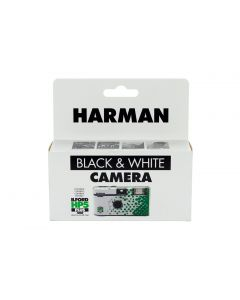 HARMAN single use camera containing ILFORD Photo HP5 PLUS black and white film
