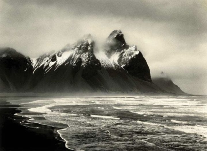 Storm over Vestrahorn, Iceland ©Tim Rudman/National Trust