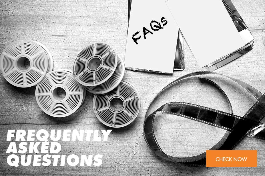 Static block linking to FAQs page