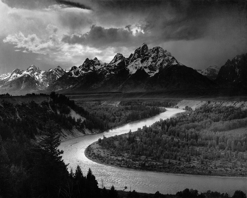 The Tetons and the Snake River (1942) ©ANSEL ADAMS