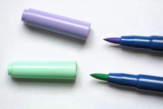 Brush pen nibs Andrew Sanderson