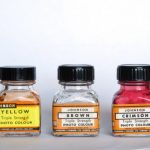 Dyes used for hand colouring black and white prints