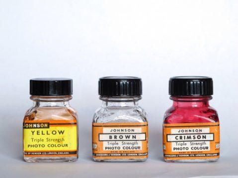 Johnson photo colour Dyes Andrew Sanderson