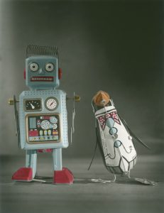Tin toys by Andrew Sanderson