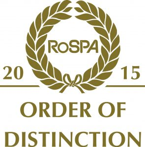 RoSPA Order of Distinction 2015