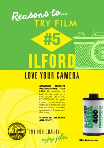 Reasons to try film #5 DELTA 400