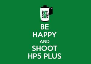 Shoot HP5+ posters from ILFORD PHOTO
