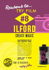 Reasons to try film #8 SFX200