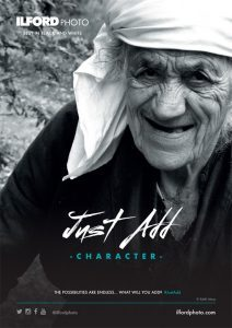 #justadd poster from ILFORD PHOTO