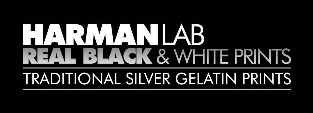 HARMAN lab black and white film processing logo