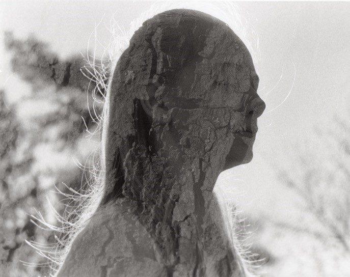 Black and white image shot on HP5+ film