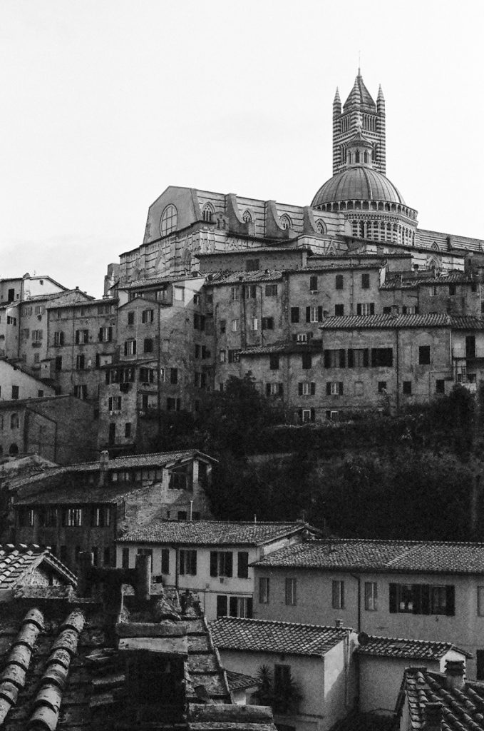 San_Gimignano - shot on black and white iILFORD Film by Meredith Schofield