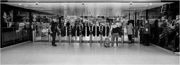Black and white film photograph by Martin Berry shot on Hassleblad Xpan using ILFORD film