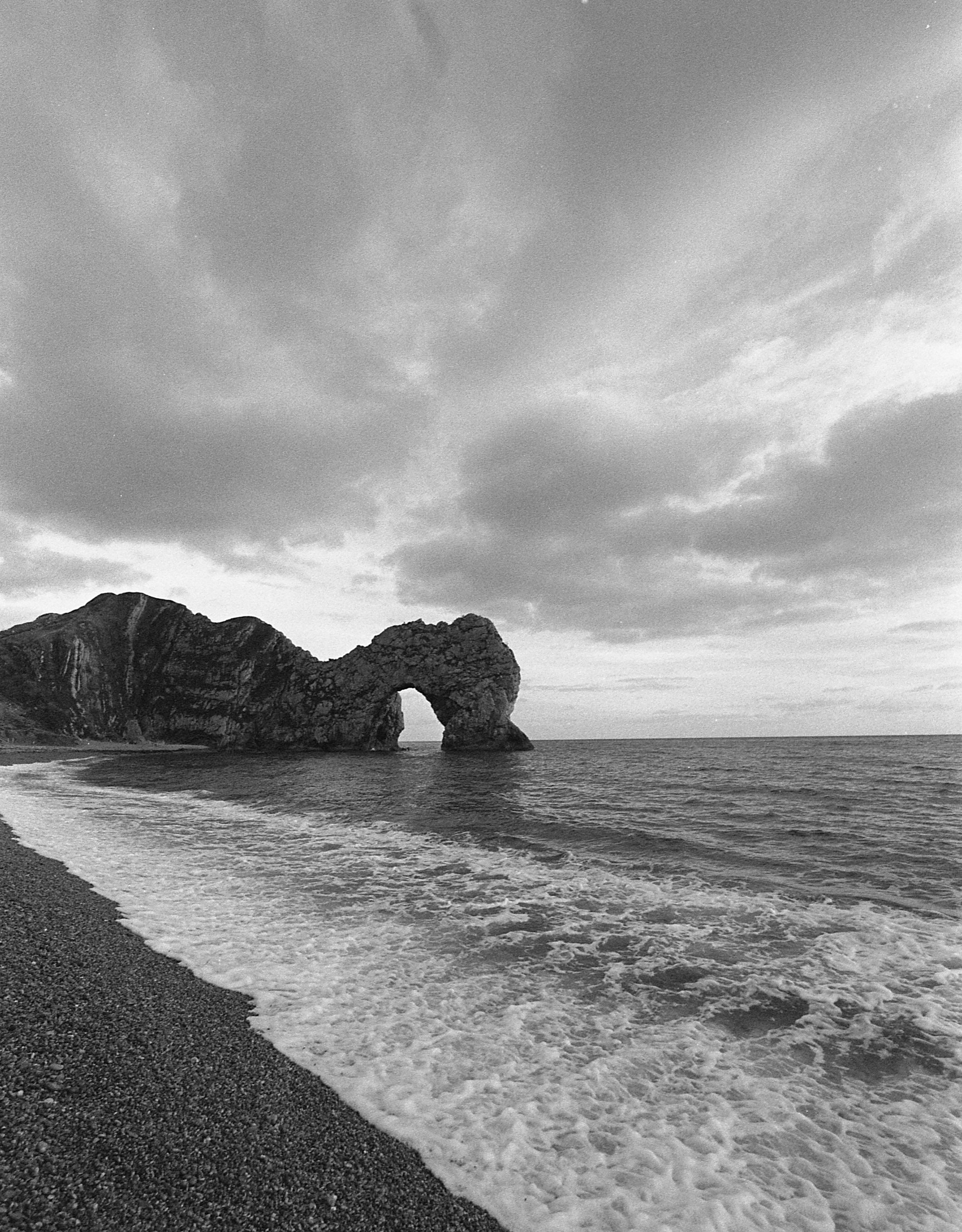 Durdle Door - Shot on HP5+ FILM BY jASON aEVERY