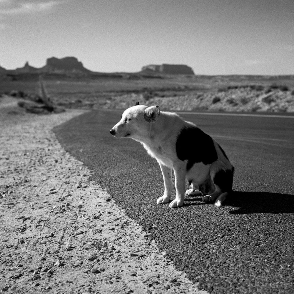 Black & white pictures hot in the American West by Adiran Otero on ILFORD HP5= 120 film