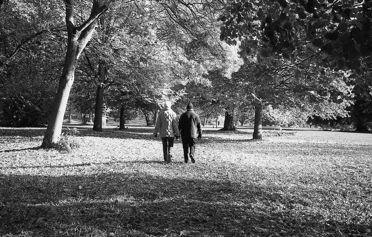 Black and white films image by @atlantean526 for #ilfordphoto #fridayfavourites #autumn theme