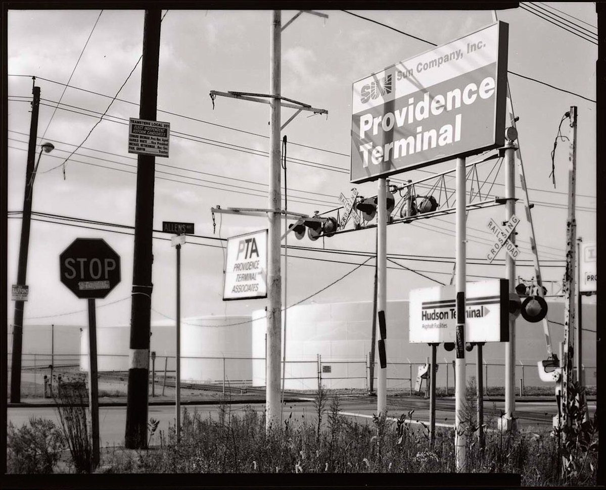 #ilfordphoto #fridayfavourites #darkroomprints @ClickErik  Port of Providence. Contact print on Ilford Multigrade FB paper, toned in selenium from a 4x5 negative. @ILFORDPhoto #fridayfavourites #darkroomprints