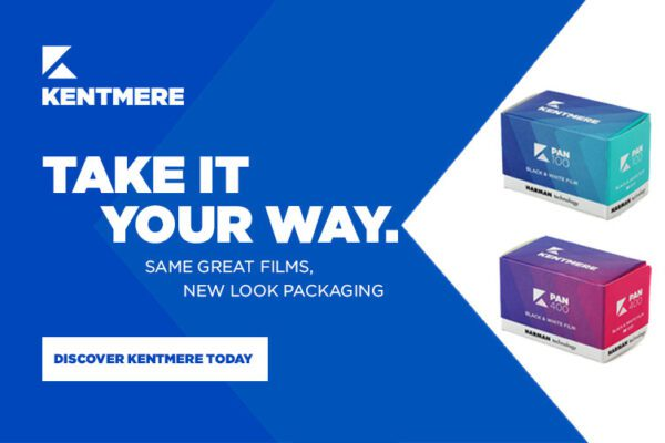 Kentmere new packaging hero banner linking to kentmere pages on ilford photo