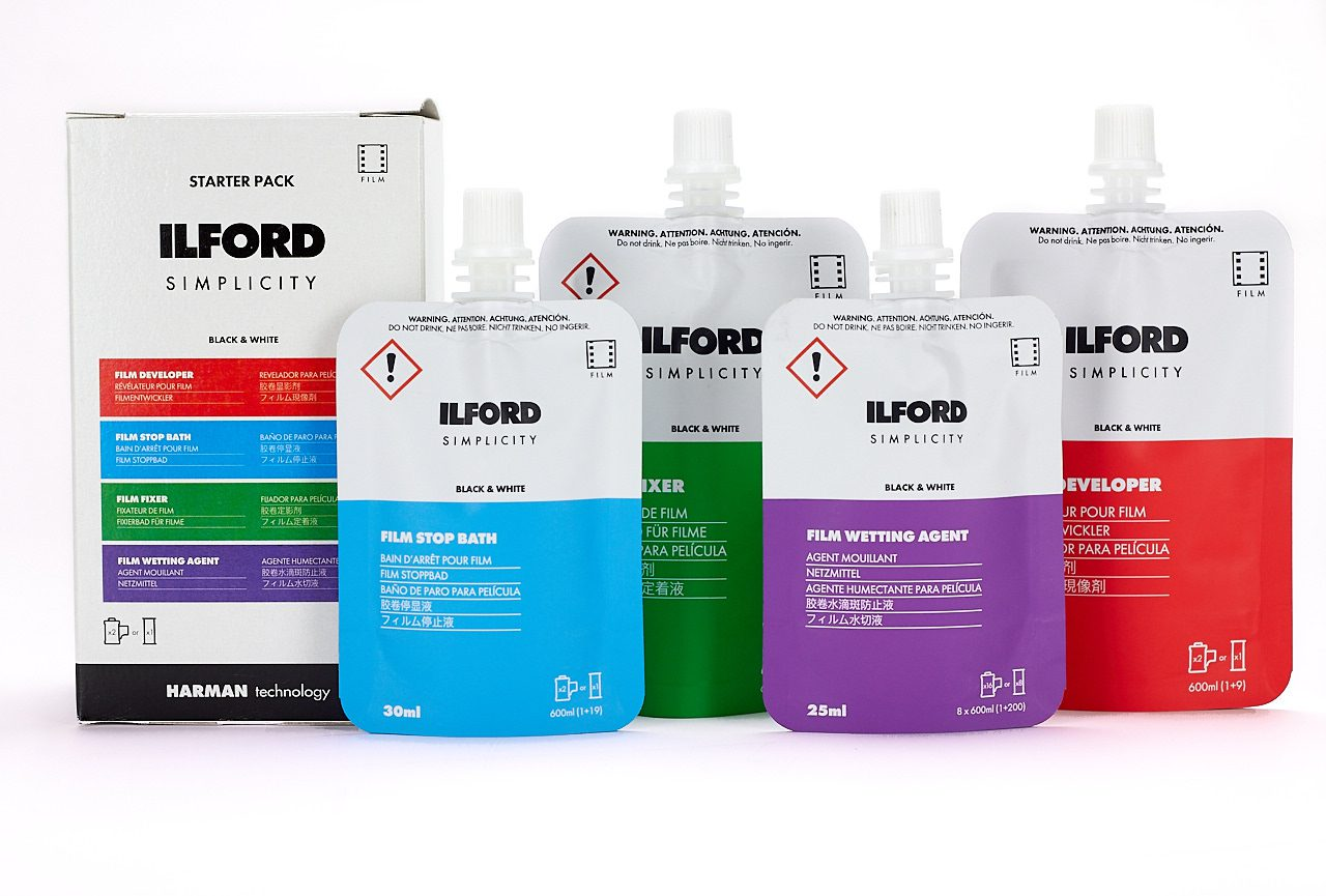 ILFORD SIMPLICITY FILM PROCESSING SACHETS