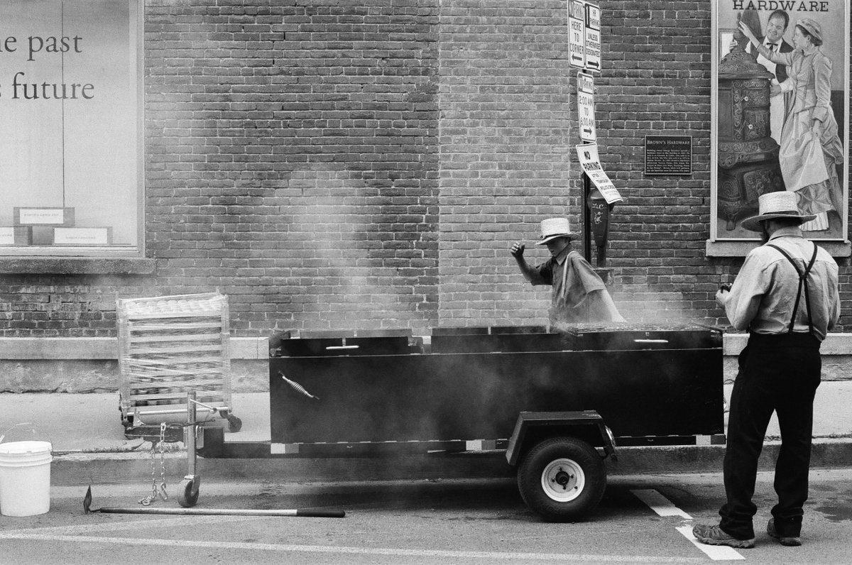 @brentdelanoy  20h20 hours ago Hootlet More Downtown festival, Oneonta, NY. #believeinfilm #ilfordphoto #fridayfavourites #street #Delta400