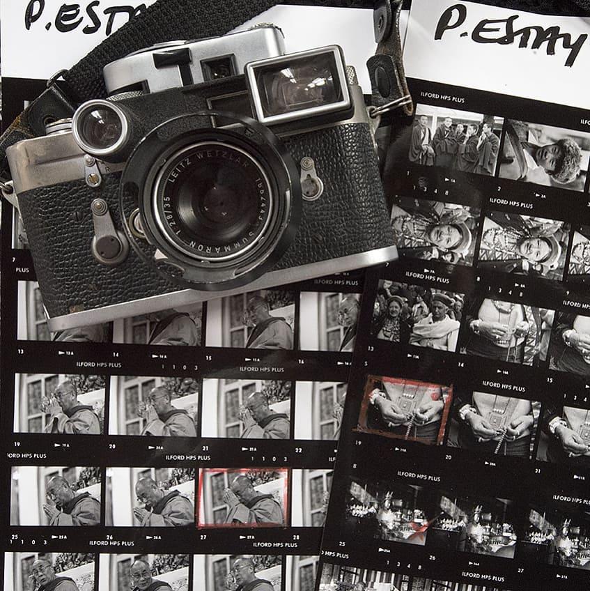 patricio_estay MY LEICA M3! Gift from Henri Cartier Bresson 1986 - Paris... #partnerincrime #leica #myleica #leicam3 #hcb #editing #patricio_estay #patbo #filmmaker #producer #photographer #storyteller #documentary #gratitude #happiness #peacemaker #portrait #gypsyclassic #contactsheets #tibet #dalailama #ilfordphoto #fridayfavourites #contactsheets