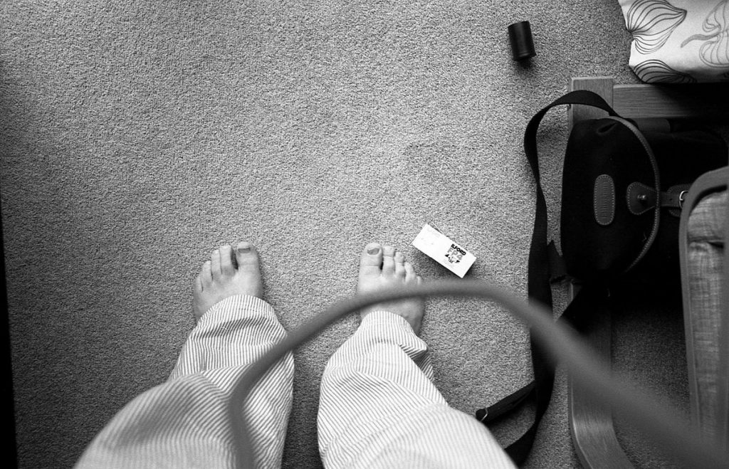 ‏ @BarnabyNutt Mar 21 Hootlet More Replying to @ILFORDPhoto When I got an M6, I kept on losing the first frame, and so began taking a picture of my feet as #FrameZero. I now have more than 70... #ilfordphoto #fridayfavourites #firstshot
