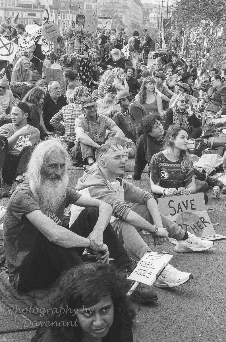 @SirWilliamD 3h3 hours ago While photographing the Extinction Rebellion protests in London it was really noticeable how many young people were carrying film cameras of all kinds. It looks like something of a resurgence. There is nothing like @ILFORDPhoto film. #ilfordphoto #fridayfavourites #ilfordfp4