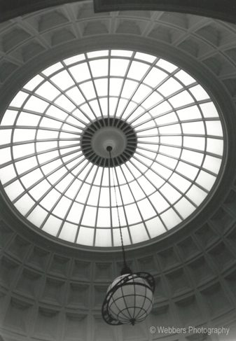 """""""Spheres"""" – I created this photograph inside the main dome building of the New York Botanical Gardens"""
