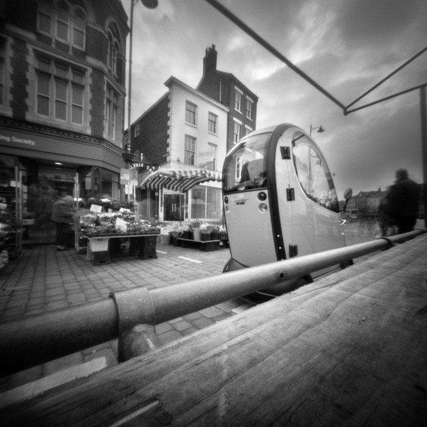 @JohnScarbro1 23h23 hours ago Hootlet More Market Transport. @ONDUpinhole 6X6 @ILFORDPhoto Pan F #pinhole #pinholephotography #lensless #ilfordphoto #believeinfilm #fridayfavourites