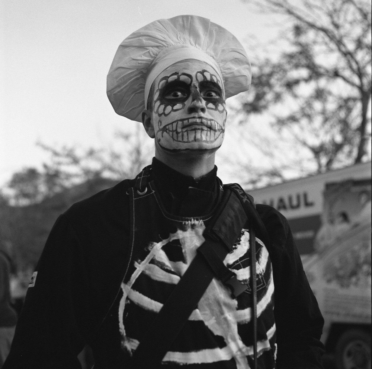 @mt_photo_ May 15 Hootlet More Zombie Baker. Ilford Delta 400 in 120. shot at 1600. Pushed 2 stops in development. Shot with Minolta Autocord. #ilfordphoto #fridayfavourites #shotat1600