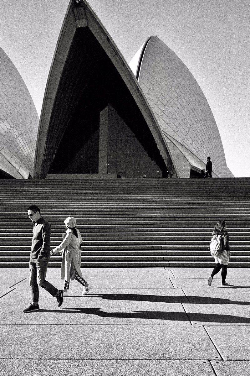 @Peterfilmphoto 12h12 hours ago Hootlet More Sydney Opera House #IlfordPhoto #IlfordHP5 #fridayfavourites #texture