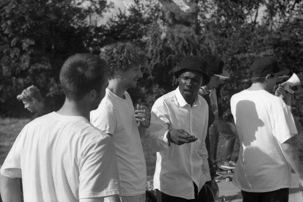 Skate Documentary Photography Shot on Black and White Film