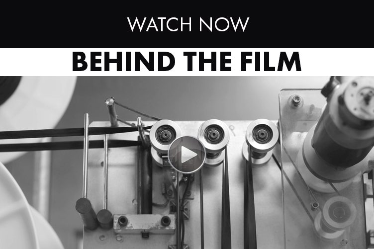 Links to BEHIND THE film video showing behind the scenes at ILFORD Photo