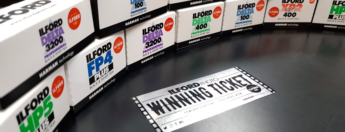 Win - wilver ticket ilford photo competition