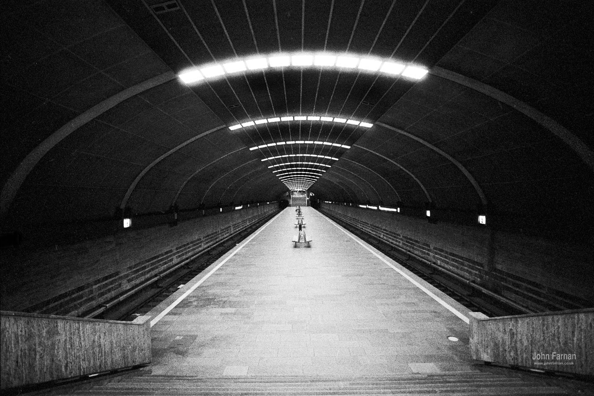 @johnfphotos · Oct 3 Here's one of my faves for the @ILFORDPhoto #fridayfavourites this week #ilfordphoto #patterns It's Titan metro station Bucharest shot handheld on #delta3200 at 1600 patterns are everywhere when you look for them 😍