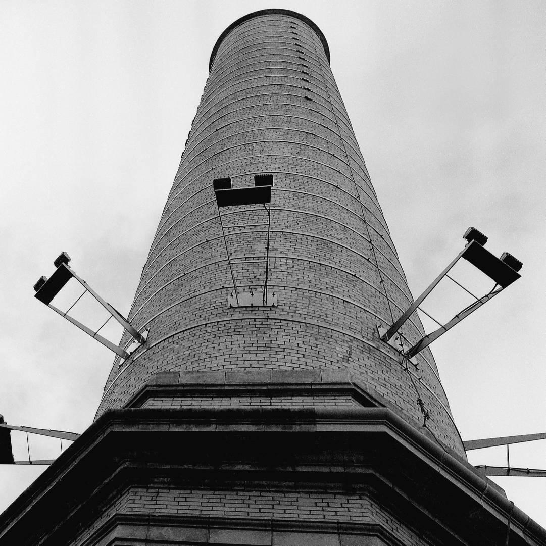@junwin Old powerhouse see more http://ello.co/junwin #Mamiya 80mm Ilford FP4 #photography #ilfordphoto #fridayfavourites #shotin2020 #monochrome #bw #analogphotography #analog #mediumformat #urban #urbanex #ilfordfilm #noir #chicago #OgilvieTransportationCenter #Ogilvie #station