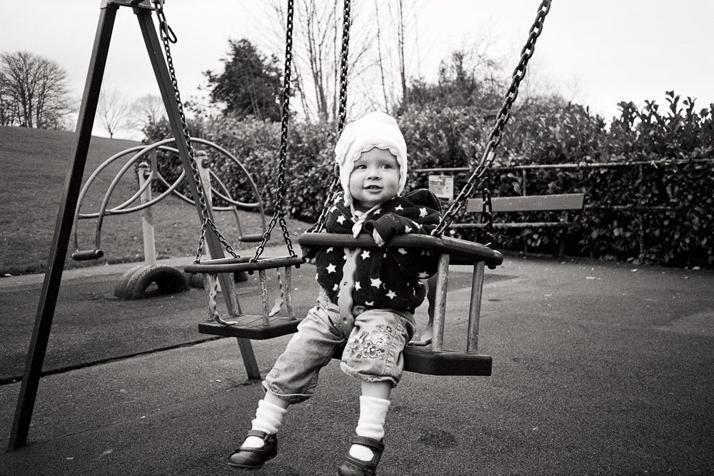 Image by Hamish Gill shot on ILFORD XP2S black and white film