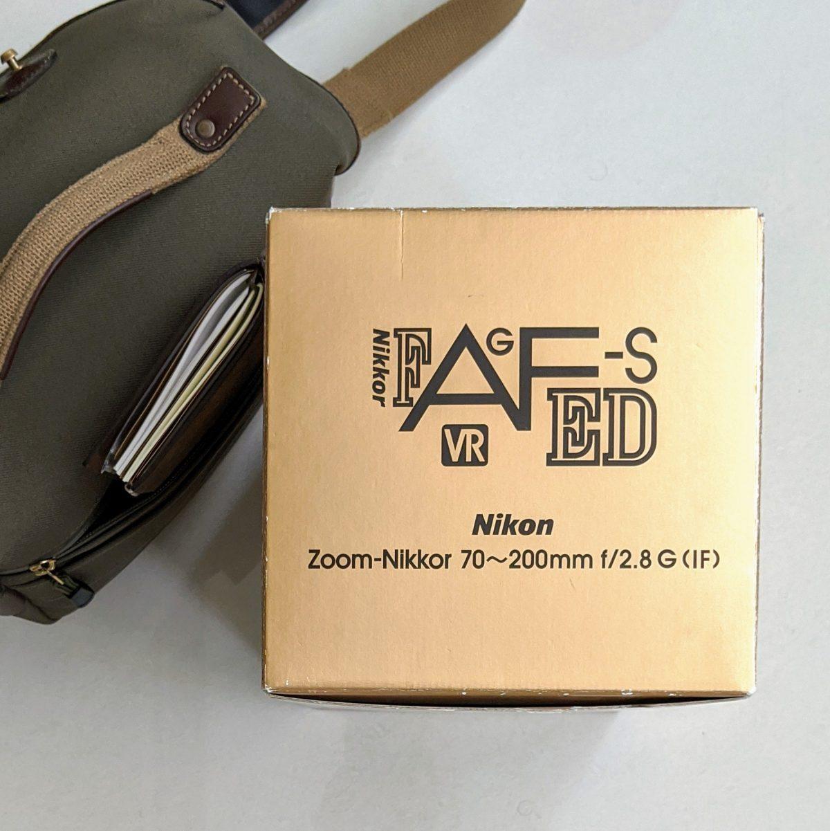 My Nikon AF-S VR Zoom-Nikkor 70-200mm f/2.8G ED-IF