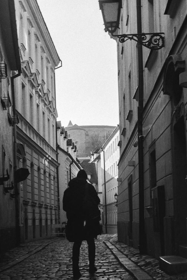 @its_jackturner #myfirsttime not only developing #ilfordphoto HP5, but first time EVER shooting HP5 #fridayfavourites Camera with flash: Zorki 4 🎞: @ILFORDPhoto HP5 (+1) Earth globe asia-australia: Bratislava, Slovakia