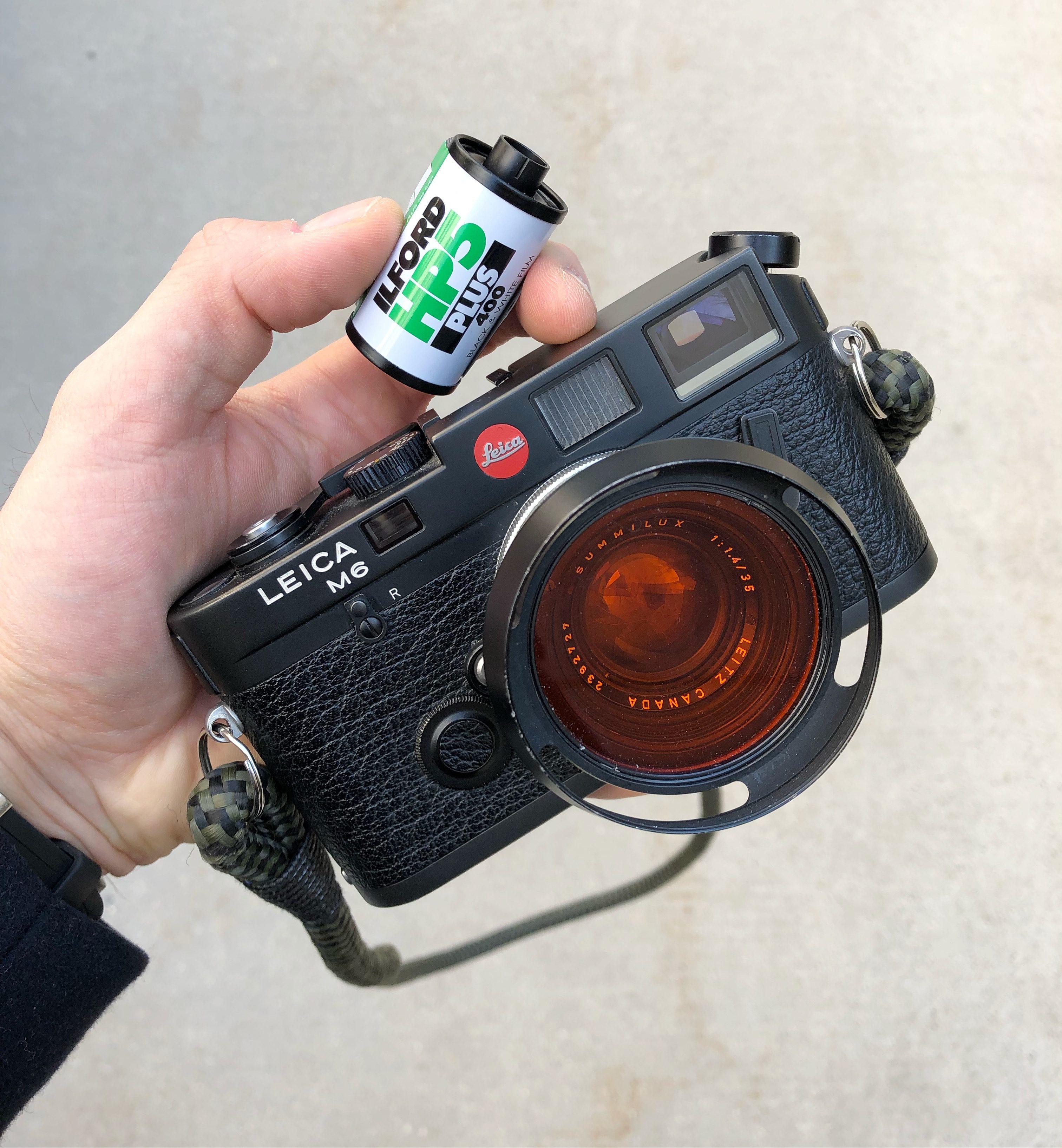 Favurite Kit Leica camEra and HP5 film©Jahan Saber