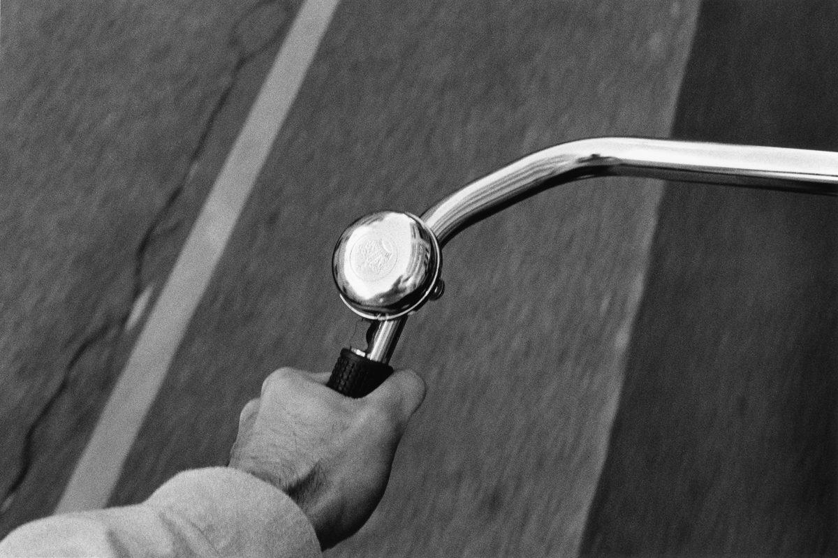 ©JahanSaber Bike in Vienna Shot on HP5