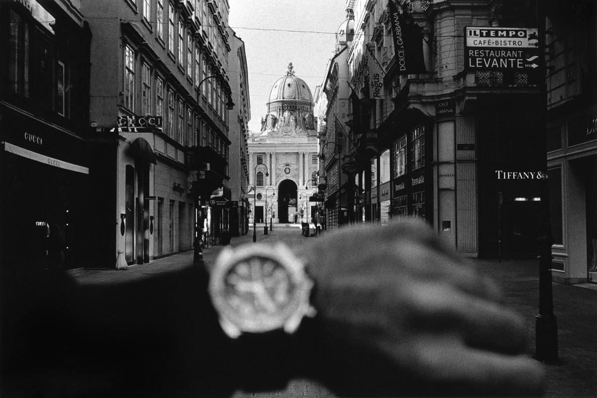 Vienna City shot on HP5 ©Jahan Saber
