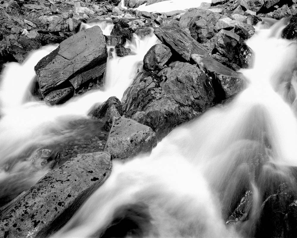@UrbaniteAlaska Replying to @ILFORDPhoto River in a gorge a few hundred meters from the Monarch Mine ruins near Crow Pass in Alaska's Chugach Range captured on 4X5 a week or two ago. #fridayfavourites #ilfordphoto #shotondelta100