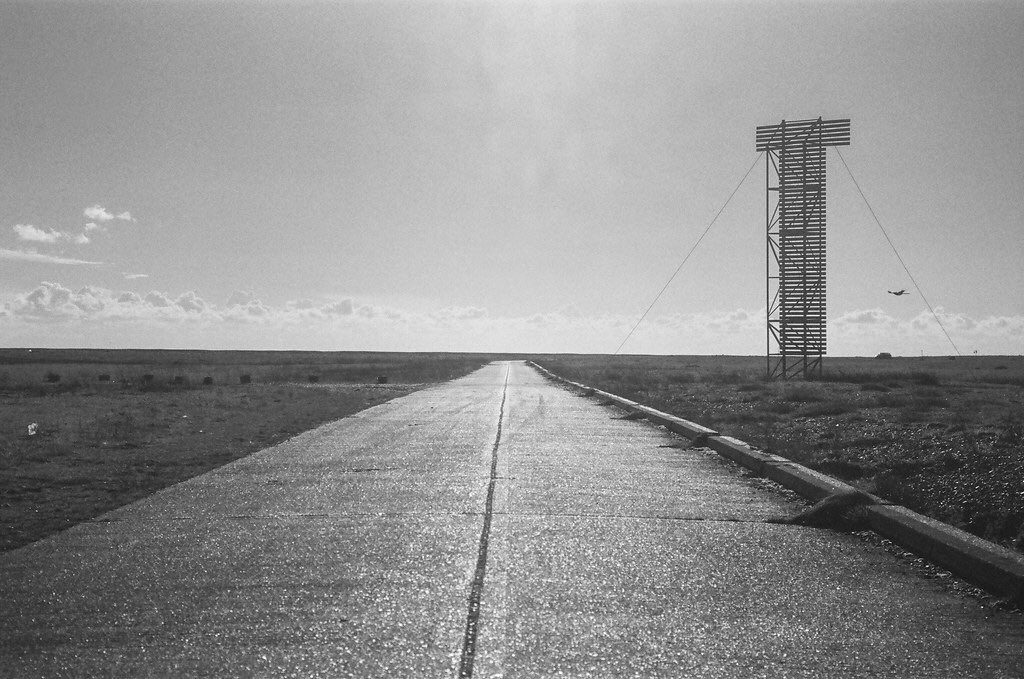 @pjmeade Replying to @ILFORDPhoto Here is the Dungeness T shaped navigation marker on Pan F 50 #Ilfordphoto #fridayfavourites #shotofpanf