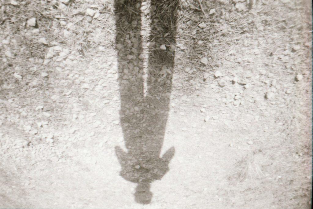 My shadow photo by yara - ilford pan 100