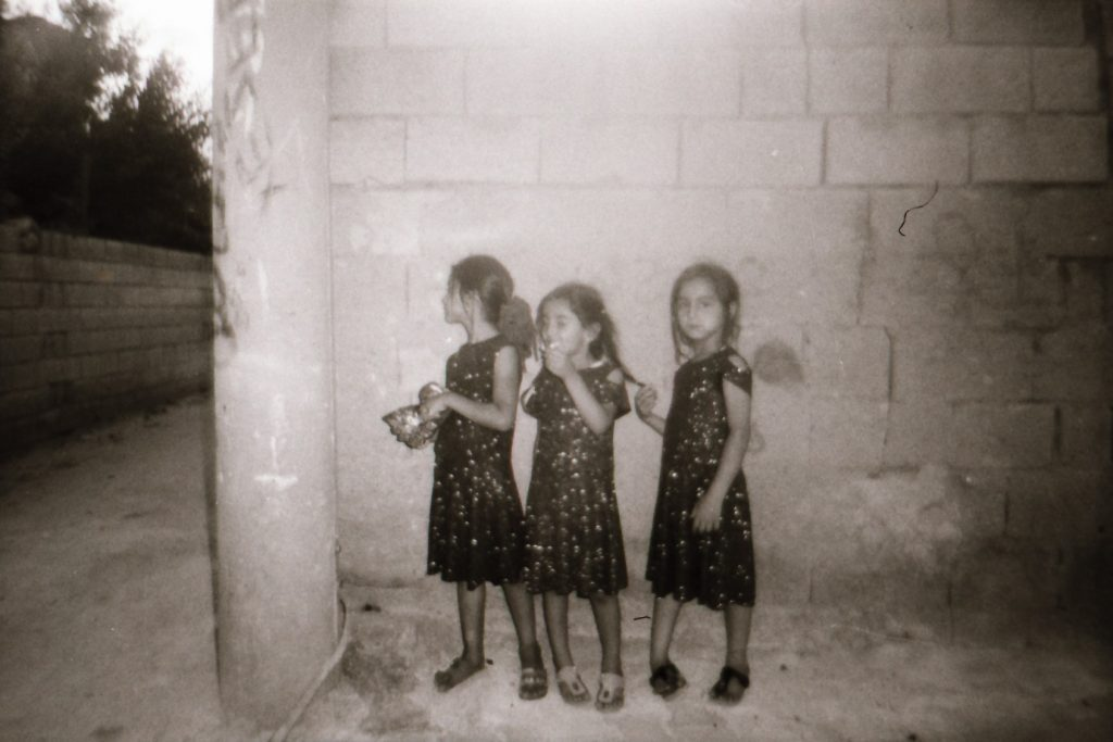 Photo by Eylem she is 11 years old from Mardin Turkey ( best Friends ) ilford Pan 400 2