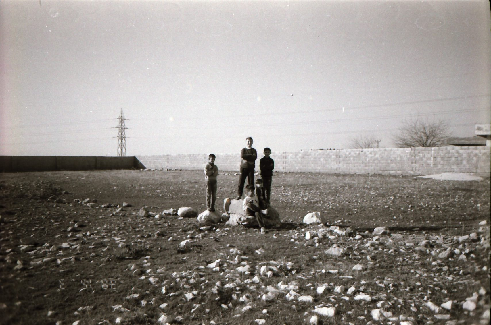 Photo by Ibrahim he is 12 years old from Alhasaka Syria ( life in village ) ilford Pan 400