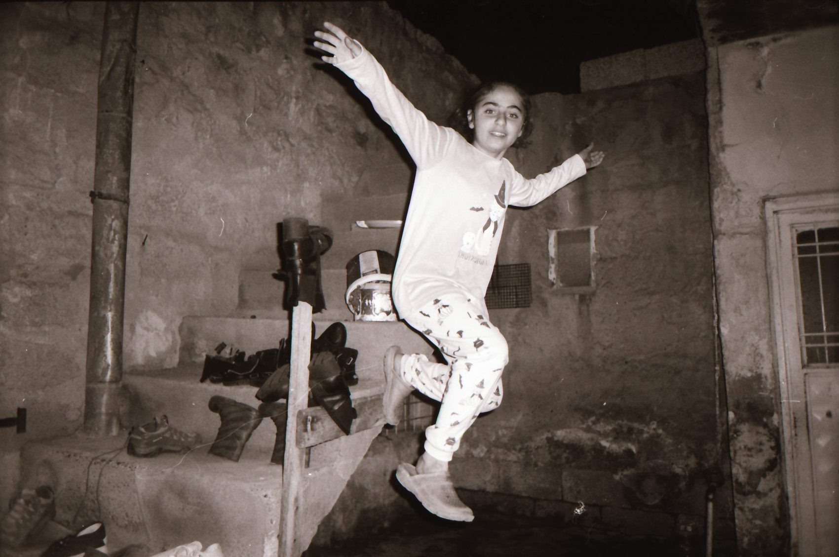 Photo by Refai he is 12 yers old from Qamishlo Syria ( Photos of her sister) ilford Pan 100