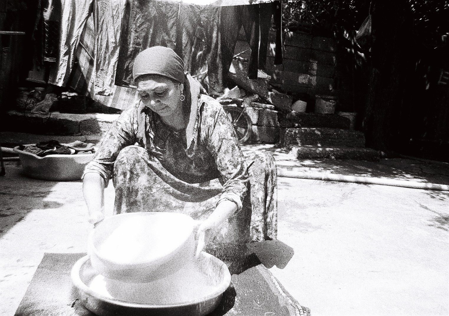 Photo by Ruba years she is 17 years old from Ahasaka Syria ( Daily life of her Mother ) ilford Kentmere 400